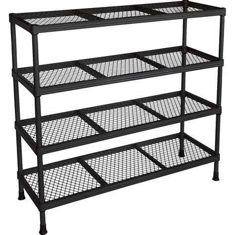 product edsal wire shelving 4 shelf 31in w x 11in d x
