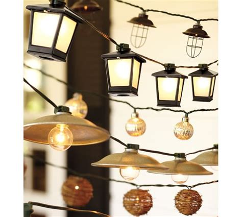 Malta Mini Lantern String Lights Pottery Barn Mini Lantern String Lights