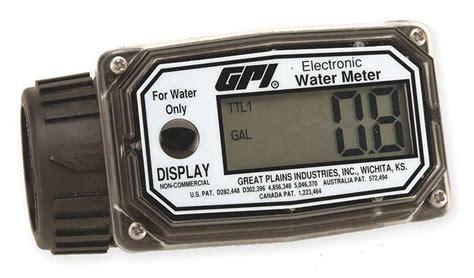 Watermeter 4 By Raja Filter gpi 1 inch digital water flow meter 3 30 gpm aero