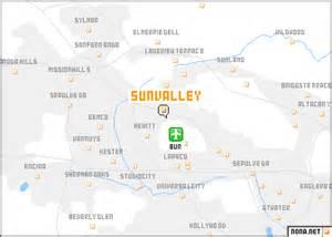 sun valley california map sun valley united states usa map nona net