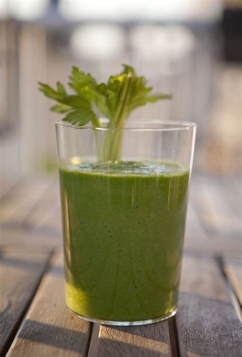 Parsley Green Smoothie Detox by Celery Fennel Detox Green Smoothie