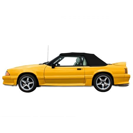 1991 1993 ford mustang convertible top pinpoint vinyl