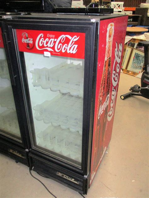 True Gdm 08n Single Door Glass Front Coca Cola Fridge Coca Cola Glass Door