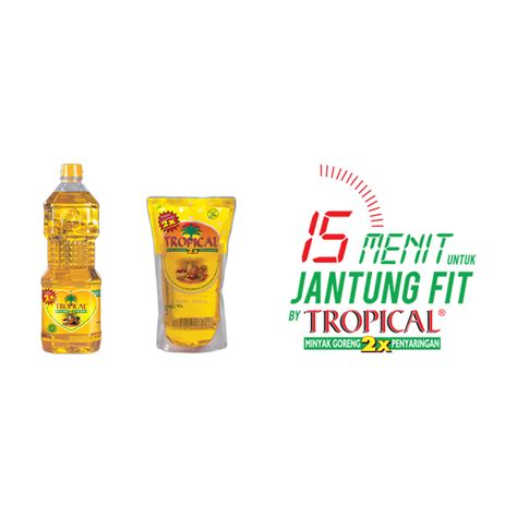 Normal Minyak Goreng Tropical minyak goreng 1 liter tropical elevenia