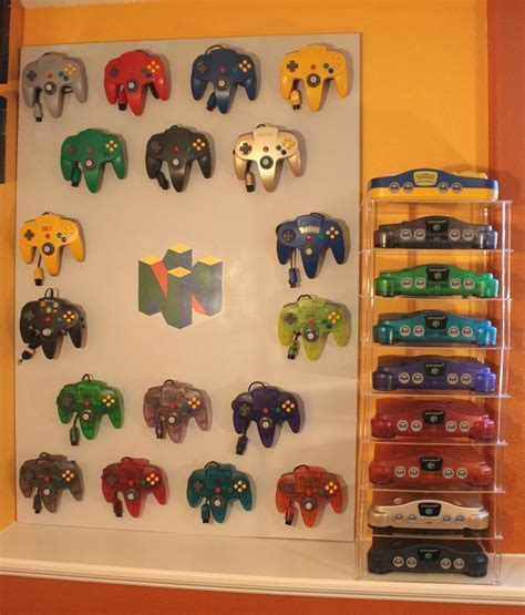 N64 Room by Must Nintendo 64 System Controller Display