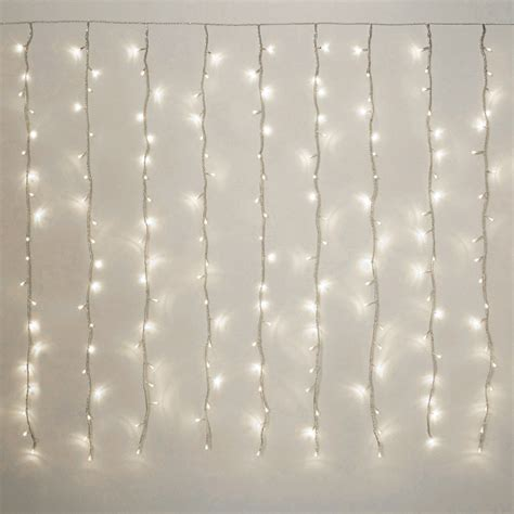 curtain fairy lights led curtain fairy lights multi function 198 led white