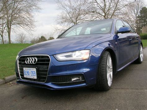 2013 Audi A4 Review by 2013 Audi A4 S Line Road Test Review Carcostcanada