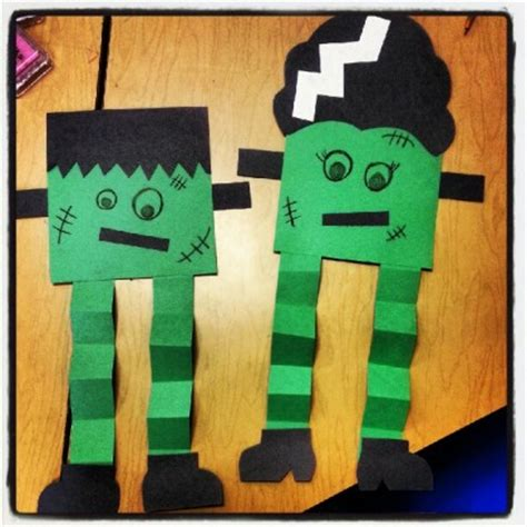 haloween crafts for my frankenstein craft dollar store
