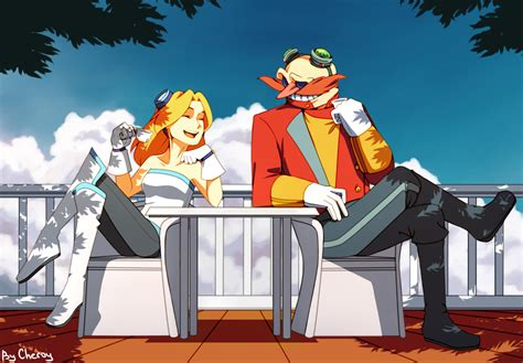 Dr Original Bpom and eggman by cheroy on deviantart