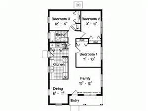 Simple 3 Bedroom Floor Plans Eplans Prairie House Plan Simple Yet Adequate 996