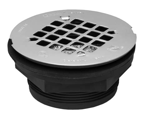 oatey 42084 101 pnc abs no calk shower drain with