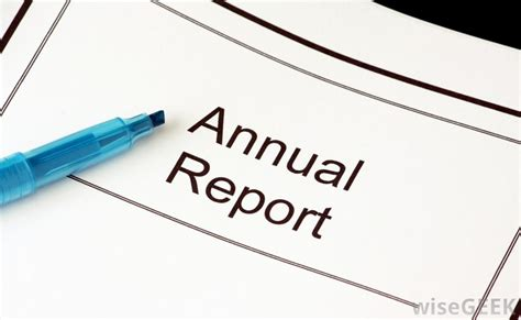 10k Report by What Is An Annual Report With Pictures