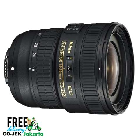 Review Lensa Nikon nikon af s 18 35mm f 3 5 4 5g ed