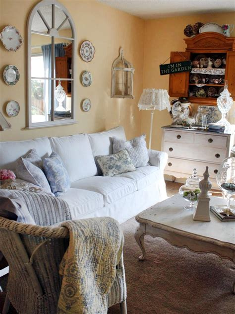 chic living rooms shabby chic living rooms hgtv