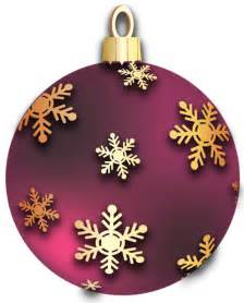 transparent red christmas ball with golden snowflakes