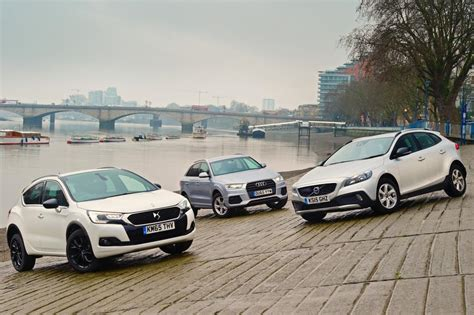 ds 4 crossback vs audi q3 vs volvo v40 cross country