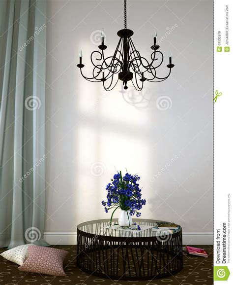 chandelier over table beautiful forged chandelier over the coffee table royalty