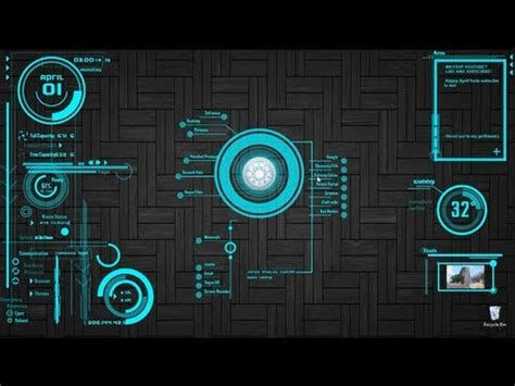 jarvis theme for google chrome windows8 how to install rainmeter and the jarvis