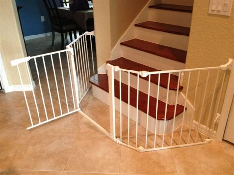 Baby Gates For Bottom Of Stairs With Banister by Gate For Bottom Of Stairs Newsonair Org