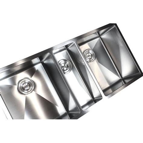 42 Inch Kitchen Sink 42 Inch Stainless Steel Undermount Bowl Kitchen Sink 15mm Radius Design 16