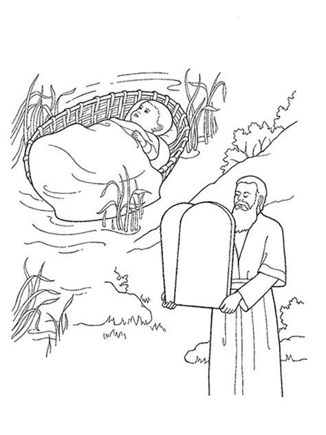 moses   child    ten commandments