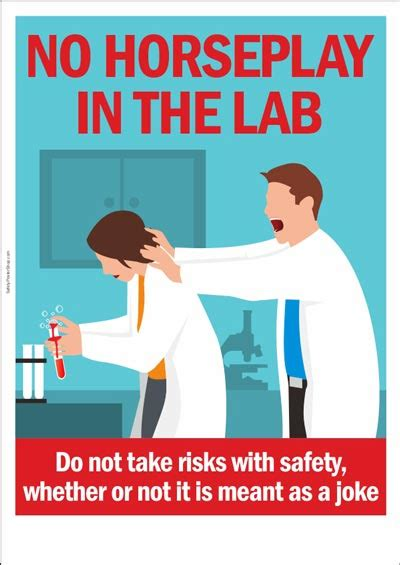 In The Lab lab safety posters safety poster shop