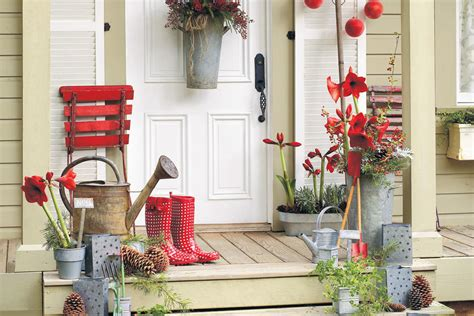 greet with a garden theme 100 fresh christmas decorating