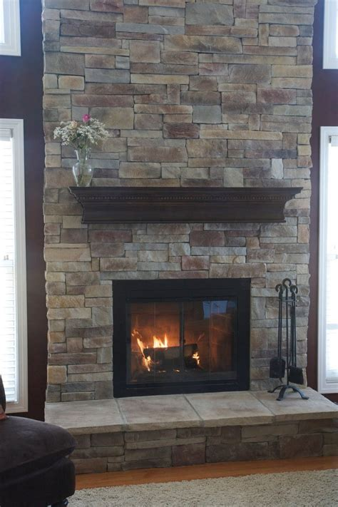Fireplace Gravel by Fireplace Makeover Brick New House