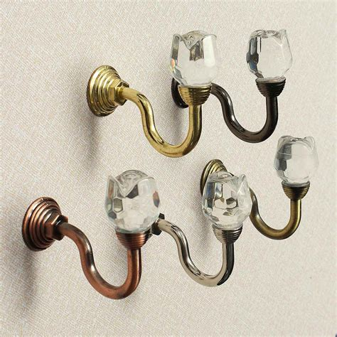 curtain hanger hooks online get cheap crystal wall hooks aliexpress com