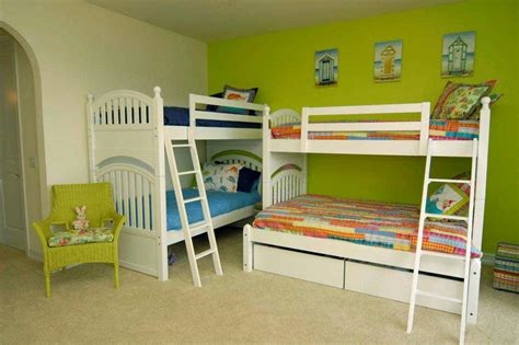 Small Childrens Bunk Beds Beds For Small Rooms To Create A Larger Look
