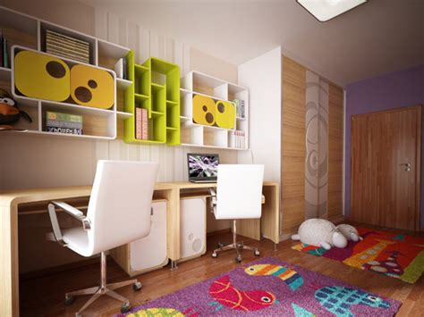 Bedroom Designs For Kids Children bedroom for children innovatively decorated with fresh colors