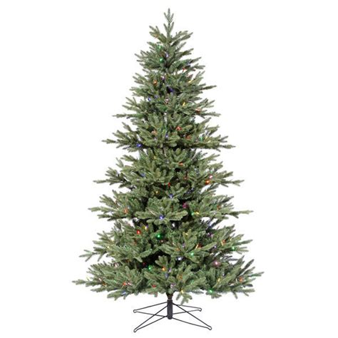 vickerman g112367led 6 5 ft pe pvc christmas tree