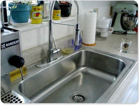 before after our new kitchen sink