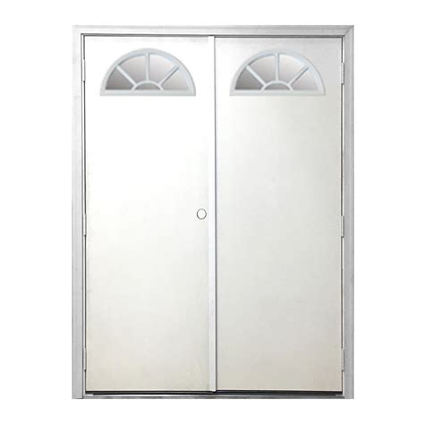 steves sons 48 in x 80 in 10 lite glass solid core steves sons 48 in x 80 in garden shed fan lite white
