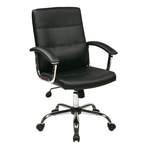 office chair in black mal26 bk