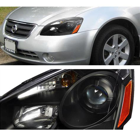 nissan altima headlights 2005 2006 nissan altima depo replacement projector