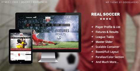 drupal soccer theme real soccer sport clubs responsive wp theme by