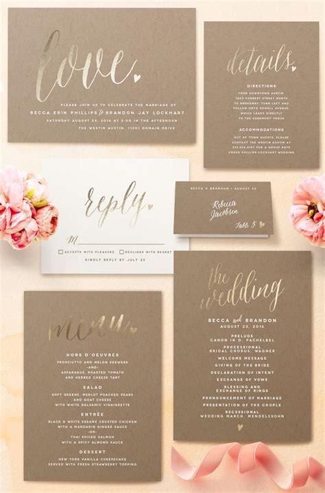 25  best ideas about Romantic Wedding Invitations on
