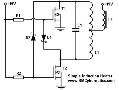 simple diy induction heater circuit rmcybernetics