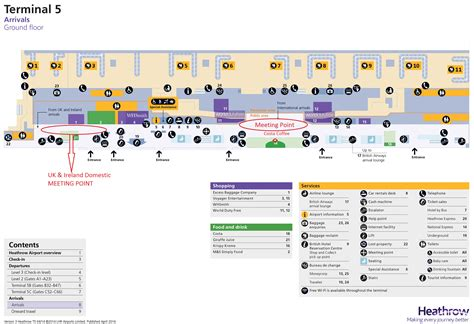 heathrow terminal 5 floor plan map of london heathrow airport on hotelsbrit com photos