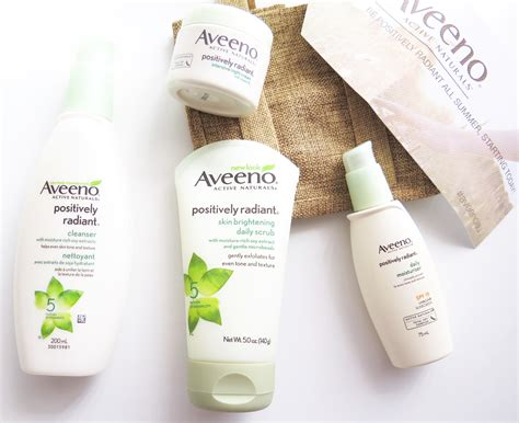 Poppy Dharsono Brightening Daily Cleanser taking a look at aveeno s positively radiant product range tried and tested