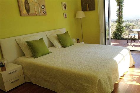 pistachio bedroom south of france holiday villa with heated pool to rent on