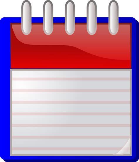 calendario clipart calendario fondo vuoto clip at clker vector