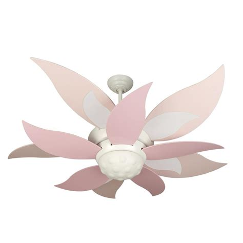 Flower Petal Ceiling Fan by Pink Flower Petal Ceiling Fan Decorate New House