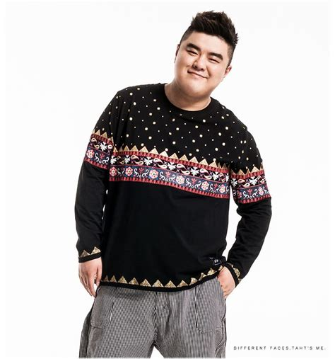plus size asian fashion and casual fashion handsome