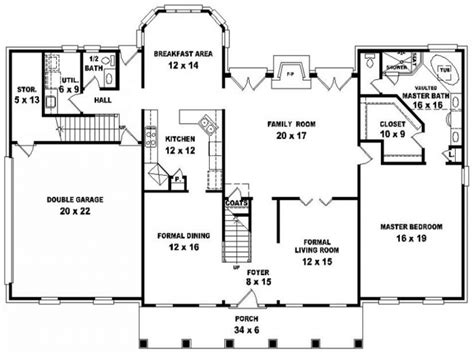 style house floor plans federal style house georgian style house floor plans