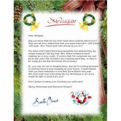 free letter from santa claus new calendar template site