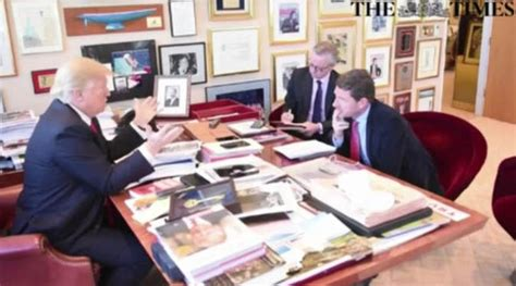 donald trump office a look inside donald trump s office and his view on the