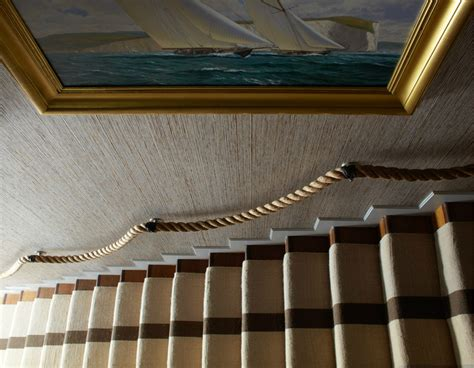 rope banister rope it up home atelier turner the design blog