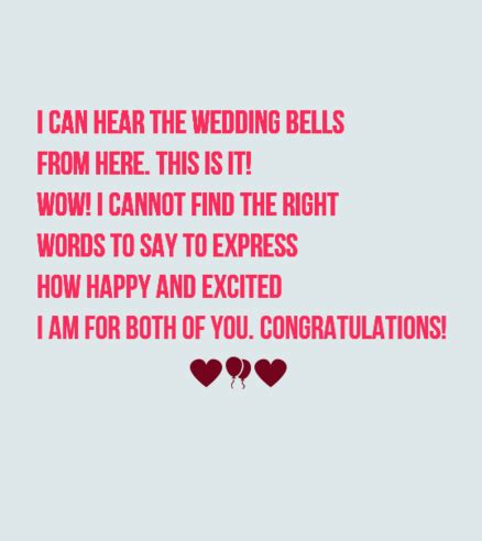 Wedding Bell Messages by 40 Wedding Card Messages Wishesgreeting